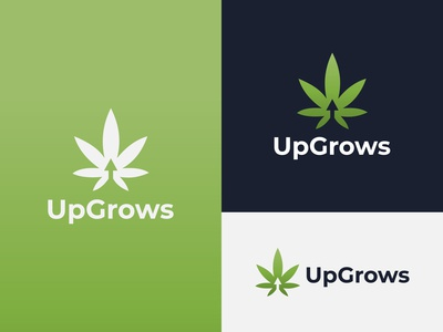 UpGrows Logo Design