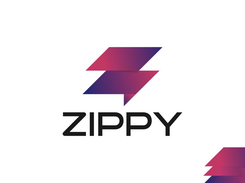 Zippy Logo Design   Z Letter Mark