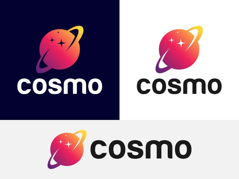 Cosmo Logo Design   Globe Logo Concept
