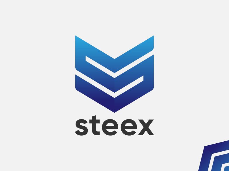 Steex Logo Design   Letter S Mark