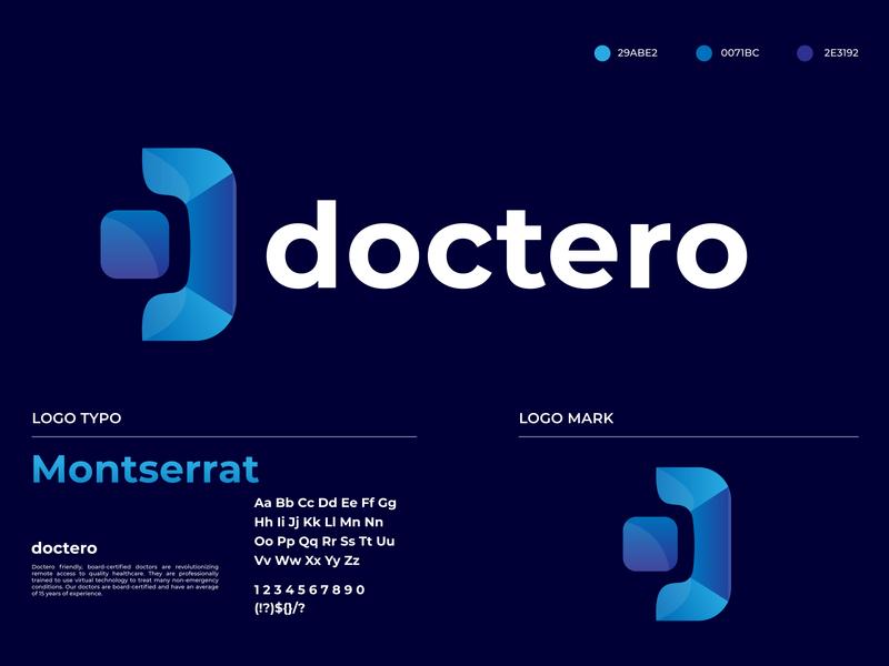 Doctero Logo Branding Identity Design
