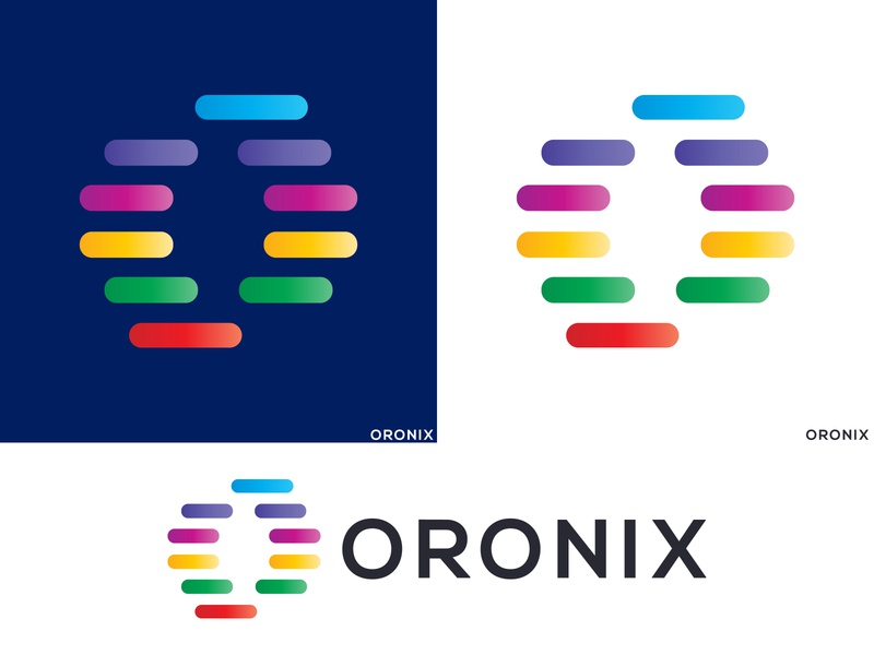 Oronix Logo Design   Letter O Mark