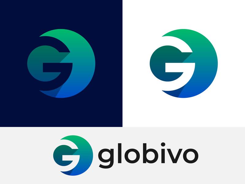 Globivo Logo Design   G Logo Mark