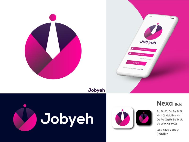 Jobyeh Logo Brand Identity Design