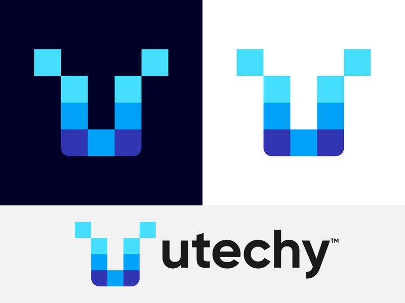 Utechy Logo Design   UT Logo Mark