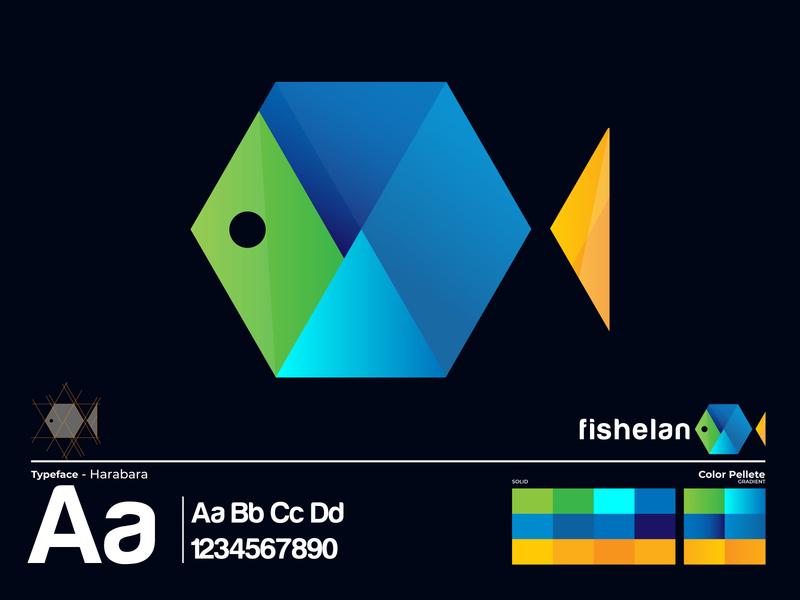 Fishelan Logo Design