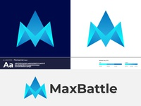 MaxBattle Logo Design