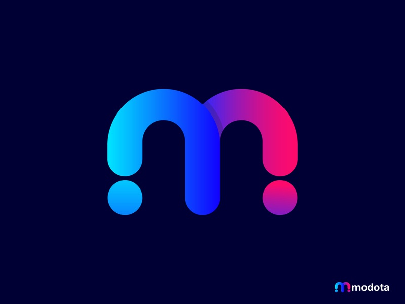 Modota Logo Design | M Logo Mark modern m letter logo m logo technology software app icon creative logos illustration 3d logo abstract business company logo vector logotype logo mark branding concept branding logo design logo