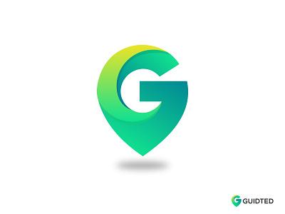Guidted Logo Design 3d logo logotype logomarks technology g letter g logo green illustraion gradient abstract app icon location app location vector branding concept logomark logos branding logodesigner logodesign