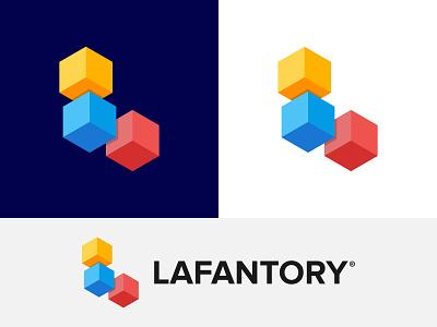 Lafantory Logo Design letter logo l logo modern logo creative colorful illustrator branding and identity business logo logo logomark vector logotype branding concept app icon app logo abstract 3d logo logodesigner logo design branding