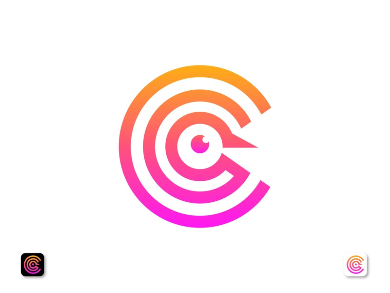 Letter C logo For A Language Learning Program modern logo smart logo simple abstract branding and identity communication identity graphic design app logo learning platform logo designer logotype gradient designer branding studio brand identity branding brand design c logo c icon