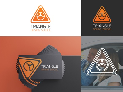 Triangle driving school Logo