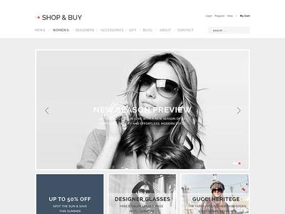 Shop and Buy e-Commerce Theme wordpress theme wp theme gavick e-commerce shop theme store theme