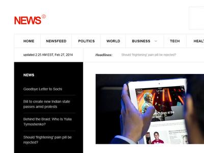 News - WordPress & Joomla Theme wordpress joomla wordpress news theme joomla news theme news theme news layout gavick responsive layout