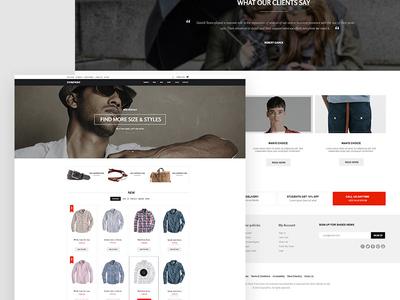 Storefront eCommerce Theme ecommerce joomla wordpres themes joomla templates wordpress themes gavick gavickpro