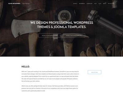 GavickPro - WordPress & Joomla Themes gavick wordpress joomla themes templates redesign sale