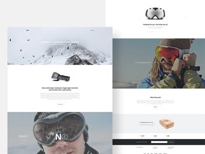 Quark Multipurpose Theme quark restaurant wordpress joomla theme landing page landing product responsive gavick gavickpro