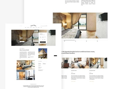 Hotel Theme travel tourism motel museum gavickpro gavick wordpress joomla hotel