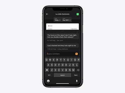 Dark Mode ui app design ios dark mode