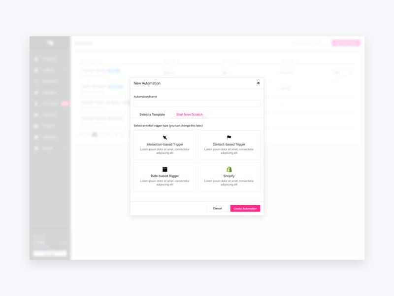 Modal modal ux interface ui design