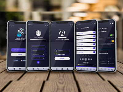 Mobile App Ui Design And Free Mocup Downloads business business card mockup business flyer business card design card design business flyer design business card template free thempletes web ui branding mobile app mobile ui