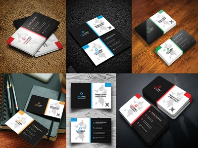 Download free 10 Business Card Mockup!