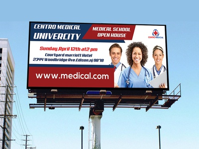 Medical Bill Board Design