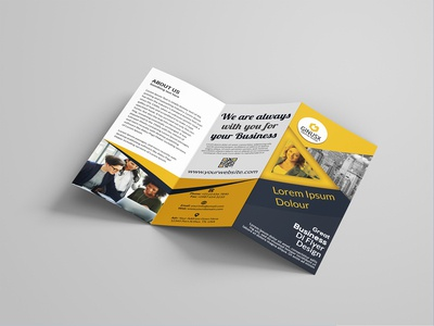 ✰ Tri fold Business brochure Design ✰