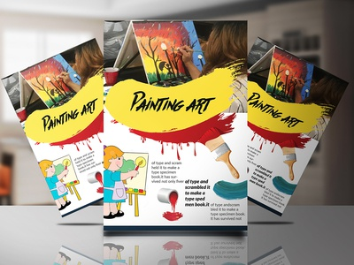 Paint art Flyer Design