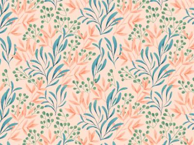 Spring Garden Floral Pattern