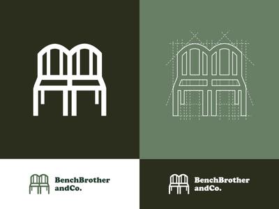 Twin Bench Logo Identity