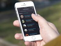 Lineless Restaurant iOS7 App