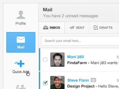 Admin mail