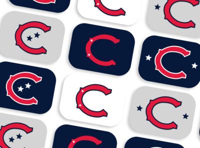 Cleveland Baseball Club branding design design logo design mark cleveland baseball sports logo