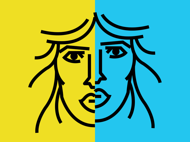 Split illustrator retro simple minimalist illustraion seattle illustrations illustration illustration digital illustration art