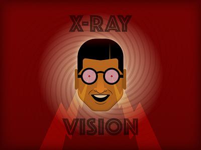 X-Ray Vision illustrator retro simple minimalist illustraion seattle illustrations illustration illustration digital illustration art