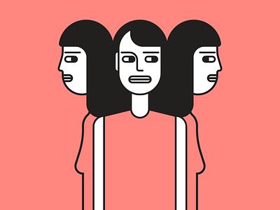Doubt illustrator retro simple minimalist illustraion seattle illustrations illustration illustration digital illustration art