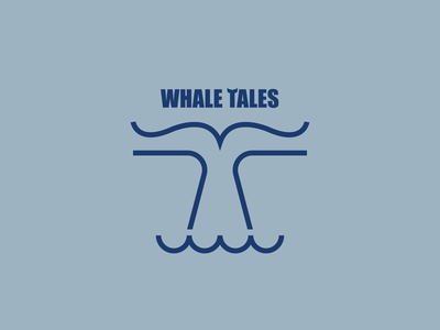Whale Tales whale books mark logos logo minimalist illustraion seattle illustrations illustration illustration digital illustration art