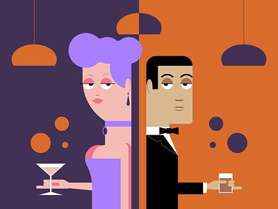 Party People people party minimalist illustraion seattle illustrations illustration illustration digital illustration art