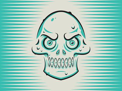 Skully minimalist illustraion seattle illustrations illustration illustration digital illustration art