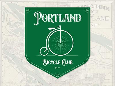 Portland Bicycle Club club bicycle oregon portland illustraion seattle illustrations illustration illustration digital illustration art