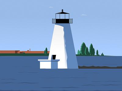 Cuttyhunk minimalist illustraion seattle illustrations illustration illustration digital illustration art
