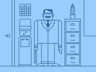 I'm In Sales! design minimalist illustraion seattle illustrations illustration illustration digital illustration art