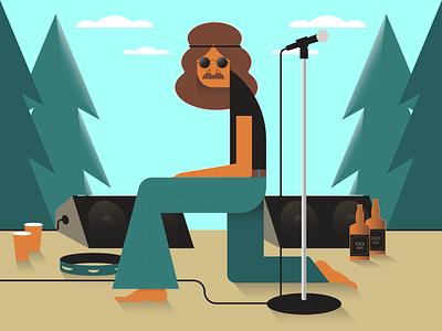 Festival minimalist illustraion seattle illustrations illustration illustration digital illustration art