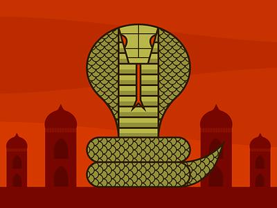 Cobra Evolution minimalist illustraion seattle illustrations illustration illustration digital illustration art