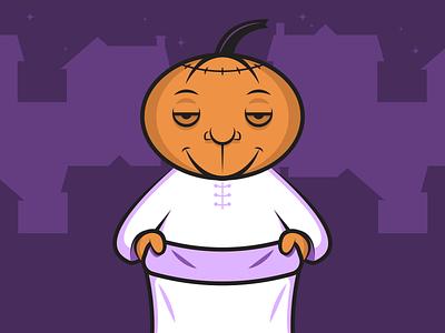 Pumpkinhead minimalist illustraion seattle illustrations illustration illustration digital illustration art