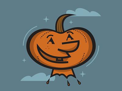 Pumpkin Face minimalist illustraion seattle illustrations illustration illustration digital illustration art