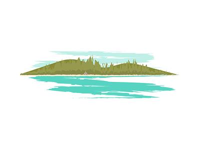 San Juan Islands illustration digital illustration art illustrations illustration washington state island san juan islands