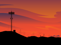 Cellular Sunset