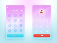 The keypad&Dial Interface